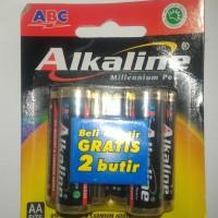 Baterai Alkaline AAA A3 Beli 4 gratis 2