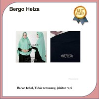 Jual Jilbab instan kerudung hijab syari bergo helza hitam Murah