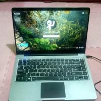 Laptop zyrex sky xtreme extreme fullset mulus