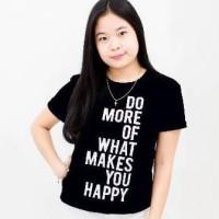 T-shirt / kaos cewek / kaos wanita / tumblr tee do more