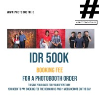 Booking Fee Photobooth