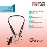 Soundplus - Athena | Earphone Bluetooth Murah Promo Neckband Wireless