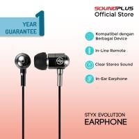 Soundplus - Styx Evolution | Earphone Murah Promo Earbud Fit Stereo