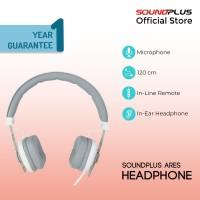 Soundplus - Ares | Headphone Murah Promo On-Ear With Mic High Quality