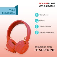 Soundplus –Taro | Headphone Murah Promo Portable With Microphone