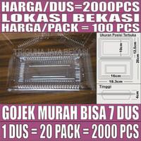 Mika Nasi Uk 3 BX Plastik 100 pcs Per Pack Sedang 0.1mm Gojek Bekasi
