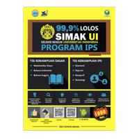 Buku 99,9% LOLOS SIMAK UI PROGRAM IPS 2018 2019, Grasindo