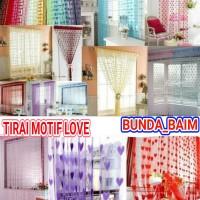 TIRAI LOVE ML101 / TIRAI BENANG KOREAN JAPAN GORDEN PINTU JENDELA
