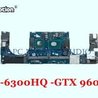 Mainboard AAM00 LA-C361P Dell XPS 15 9550 15.6-Inch Laptop GTX 960M i5