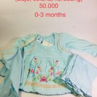 Baju Bayi muslim set 0-3 bulan