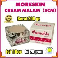 MORESKIN CREAM MALAM Nasa / Moreskin Night Cream / Krim Pemutih Wajah