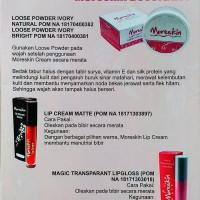 Terlaris Lipstik LC08PN Moreskin LipCream Pink Menyala Original Nasa