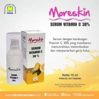Terlaris Moreskin Serum Vitamin C 30 Mencerahkan Melembutkan