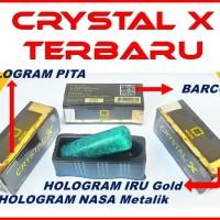 Terlaris Original Natural Crystal X Original Terbaru