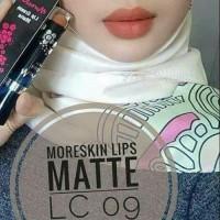 Terlaris Lipstik LC09CM Moreskin Lip Cream Coklat Muda Original Nasa
