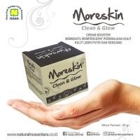 Terlaris Moreskin Clean & Glow Cream Nasa Booster Peremajaan