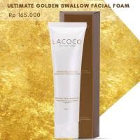 Terlaris Lacoco Ultimate Golden Swallow Facial Foam Original Nasa