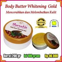 Terlaris Moreskin Body Butter Whitening Gold Original Nasa