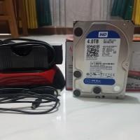 HDD Internal/Eksternal WD Blue 4 TB + Docking HDD