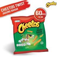 Cheetos Twist Jagung Bakar 15 Gr - 60 Pcs