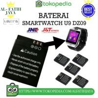 Baterai Smartwatch u9 dz09 batre jam tangan HP unik battery original
