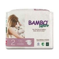 Harga bambo nature size 2 popok bayi perekat tape s anti ruam | Pembandingharga.com
