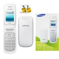 Samsung lipat flip Caramel GT-E1272 samsung hp murah handphone baru