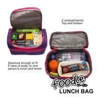 Harga tas kotak bekal makan insulated lunch bag box kid teen foodle   Hargalu.com