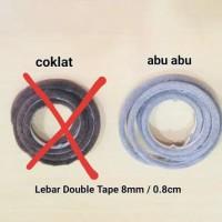 Mohair + Lem Double Tape Besar / Moher / Door seal