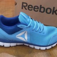 Harga sepatu reebok original running fitnes astro runner blue cn1455  ddeb77e240