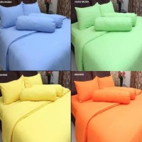 Bed Cover Polos TANPA Sprei Set Rosewell uk Single