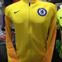Jaket Bola Chelsea Away Anthem Yellow 2018/2019 grade ori Murah