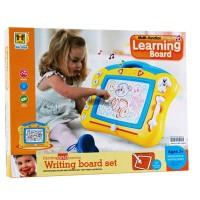 Mainan Edukatif Learning, Writing & Drawing Board No.665 - Papan Tulis