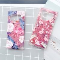 Glitter Case Samsung Note 9 8 A6 A6+ Oppo F9 F7 F5 F3 iPhone x xs