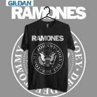Ramones - Logo Kaos Band Original Gildan