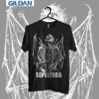 Sepultura - Carnifex Kaos Band Original Gildan
