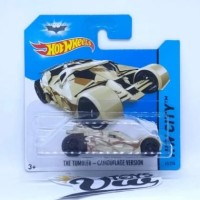 Hotwheels - The Tumbler - Camouflage Version Short Card