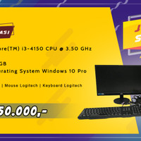 PC / Komputer 1 Set - Intel Core i3/4GB/320GB Windows 10 Pro