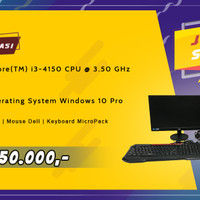 PC / Komputer 1 Set - Intel Core i3/4GB/1000GB Windows 10 Pro