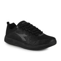 Jual Original DIADORA. FABERO Black. Sepatu Running Gym Senam Jogging Murah