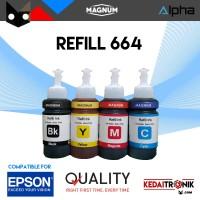 Tinta Printer EPSON 664 MAGNUM L120 L220 L210 L310 L360 L210 INK Tank