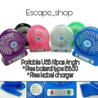 Portable USB Kipas Angin - Kipas Angin Mini Portable