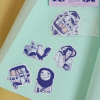 Darah Muda sticker set by Galaktik Artist