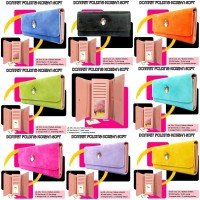 Dompet wanita folding Korean soft