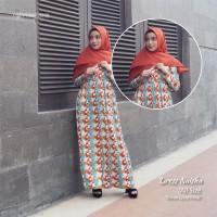 Dress Naisha | Termurah | Gamis motif | Dress terlaris | Nafisa