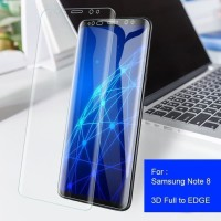 Screen Guard Full Cover Clear Jell Lentur Ultra Thin HP Samsung Note 8