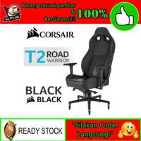 New Gaming Chair Corsair T2 Road Wirror Black - Kursi Gaming