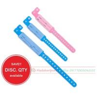 Bracelet ID / ID Band / Gelang Pasien / Gelang Identitas Pasien