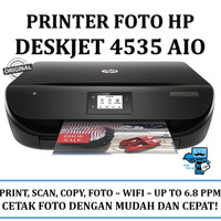 Printer HP Deskjet 4535 INK - F0V64B - WiFi - Original Resmi