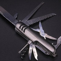 pisau lipat multifungsi tools swis army